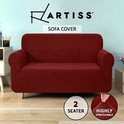 Artiss High Stretch Sofa Cover Couch Lounge Protector Slipcovers 2 Seater Covers