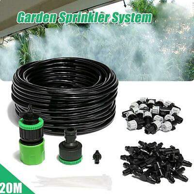 6/9/12M SPRINKLER GARDEN Misting Fan Cooling System Water Kit Patio