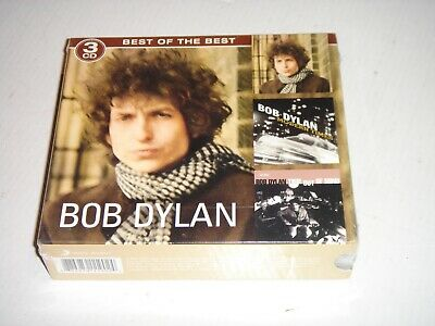 3 CD-Set NEW Best Of the Best BOB DYLAN Blonde on Blonde / Modern Times / Time O