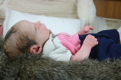 Sleeping Kase by Bountiful Baby...Beautiful Reborn Baby Doll !
