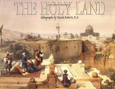 Holy Land: Lithographs by David Roberts by Fabio Bourbon Hardback Book The Cheap