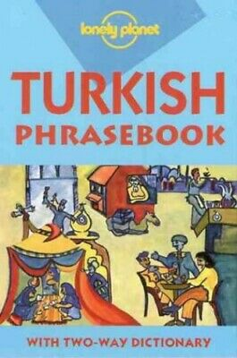Turkish (Lonely Planet Phrasebook) by Brosnahan, Tom Paperback Book The Cheap