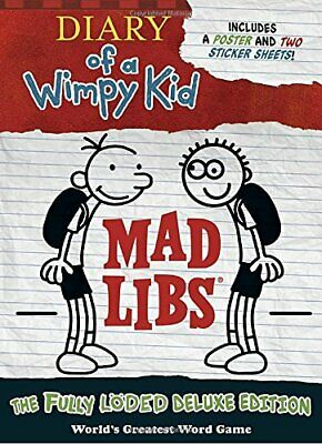 Diary of a Wimpy Kid Mad Libs: The Fully L�ded Deluxe Edition by Mad Libs Book