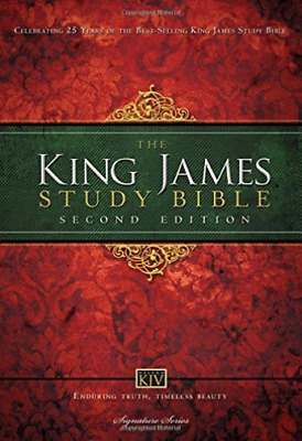 King James Study Bible Hb BOOK NEW