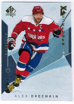 18/19 SP AUTHENTIC HOCKEY SPECTRUM FX BASE INSERT CARDS (#1-40) U-Pick From List
