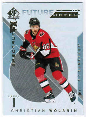 18/19 SP AUTHENTIC HOCKEY SPECTRUM FX FUTURE WATCH CARDS #41-90 U-Pick From List