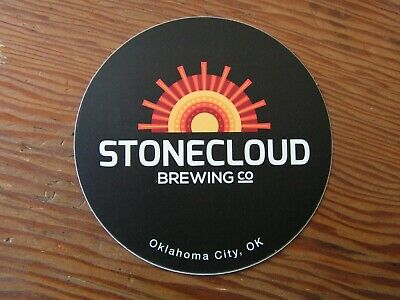 Stonecloud Brewing Co. Sticker ~NEW! Craft Beer Brew Logo Brewery Decal~
