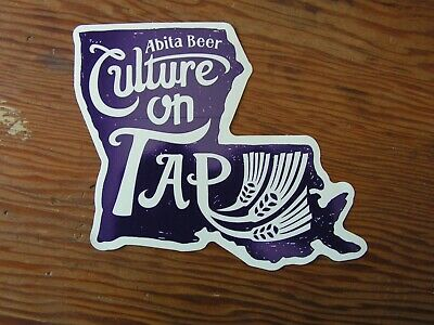 Abita Beer Sticker ~NEW! Craft Beer Brewery Logo Brewing Co. Decal~