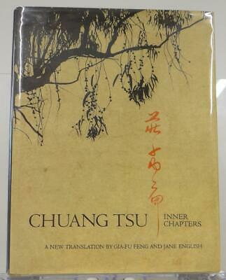 Chuang Tsu Inner Chapters 1974 Gia-Fu Feng Jane English 1st Edition Illus HC DJ
