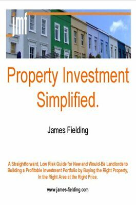Property Investment Simplified by Fielding, James Paperback Book The Cheap Fast