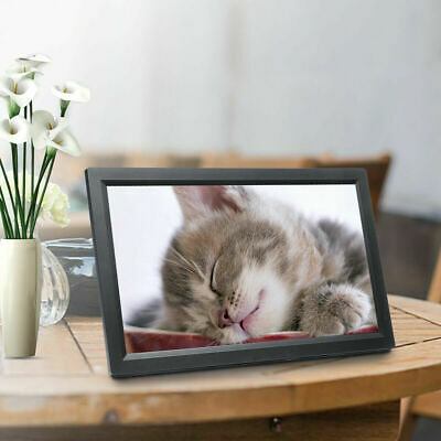 """17"""" HD Digital Photo Frame LED Picture 1080p Mp4 Mp3 Movie Player Remote VE"""