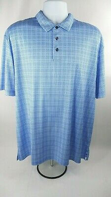 2d579f11b Jack Nicklaus Men s Staydri Blue Golf Polo Shirt Size XL Polar bear logo ...