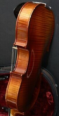 Violin With Flamed Maple Back & Sides Comes With Bow & Case