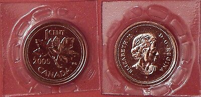 Proof Like 2005P Canada 1 Cent Sealed in Cello