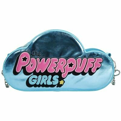 Licence Officielle The Powerpuff Girls Logo Bleu Sac Bandoulière Sac à Main