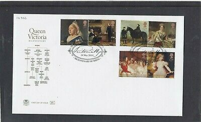 GB 2019 Queen Victoria Stuart FDC First Day Cover L0ndon SW1 special pmk