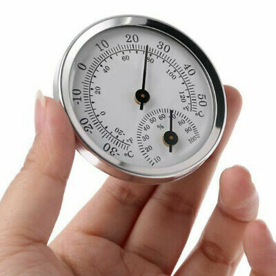 Analog Indoor Thermometer & Hygrometer Wall Mounted Temperature Humidity Meter