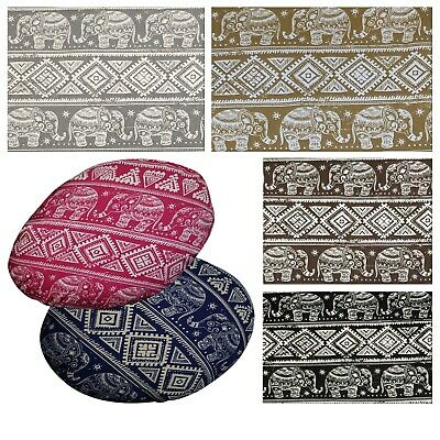 """2/""""Thick-Round Box Shape Cover*Aster Cotton Canvas Chair Seat Cushion Case*AF4"""
