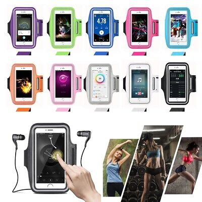 Sport Running Jogging Gym Armband Case Holder for iPhone Galaxy All Mobile Phone