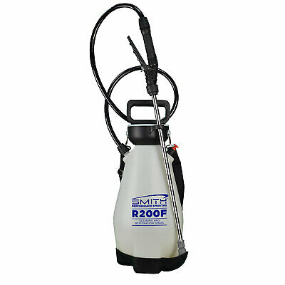 Smith Performance Sprayer 2 Gallon Cleaning Compression Sprayer with 4 Nozzles