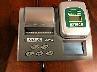 Extech 42266 Temperature Datalogger Programmer with Printer Discontinued