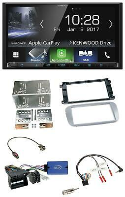 Kenwood Bluetooth DAB Lenkrad USB 2DIN Autoradio für Ford Galaxy C-Max Focus sil