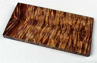 Stabilized Old Growth Curly Koa Knife Scales, Pistol Grips  SCL8232