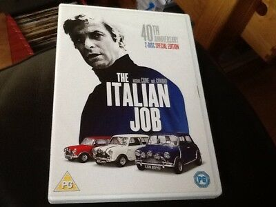 The Italian Job DVD (2009) Michael Caine , Noel Coward . 2 DISC Special Edition