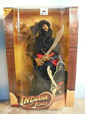 "Indiana Jones Raiders Of The Lost Ark Cairo Swordsman 12"" Figure *New*"