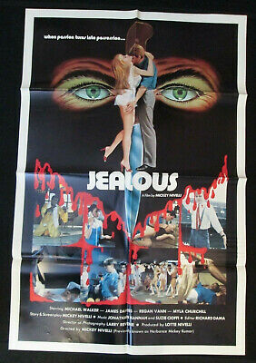 Jealous 1989 movie poster - free shipping