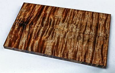 Full Size Stabilized Curly Koa Exotic Wood Knife Scales, Gun Grips  SCL8208