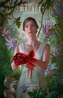 Mother movie poster - Jennifer Lawrence poster - 11 x 17 inches