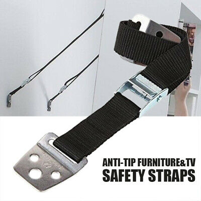 Anti-tip TV Furniture Straps Safety Positioning Adjustable Restraint Anchor AU