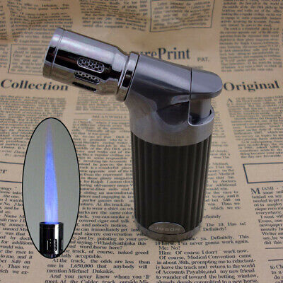 Jobon Jet Flame Cigar Torch Lighter Butane Refillable Cigarette Lighter US