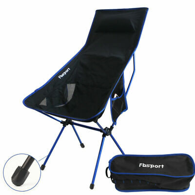 Foldable Camping Chair folding Hiking Fishing Seat Picnic Chairs Backpack Chair