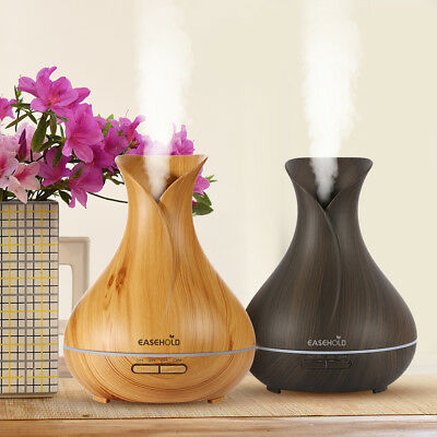 New EaseHold Aroma Essential Oil Diffuser Mist Ultrasonic Humidifier Air Purify
