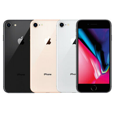 Apple iPhone 8 64GB 256GB Space Gray/Gold/Silver Unlocked GSM Smartphone