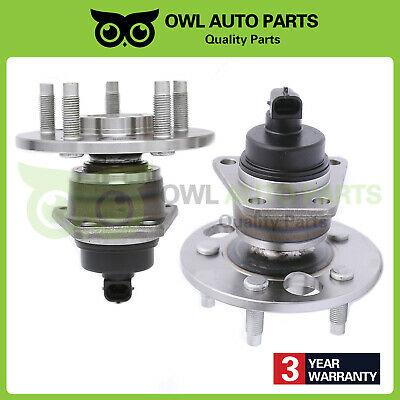 REAR Wheel Bearing Hub Set For 1992-2005 Chevrolet Cavalier With Abs Rear Set