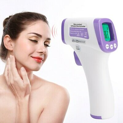Digital LCD Ear Thermometer Medical Baby Adult Body Safe Temperature Oral