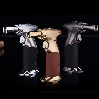 JOBON Windproof Adjustable Jet Flame Refillable Butane Cigarette Lighter