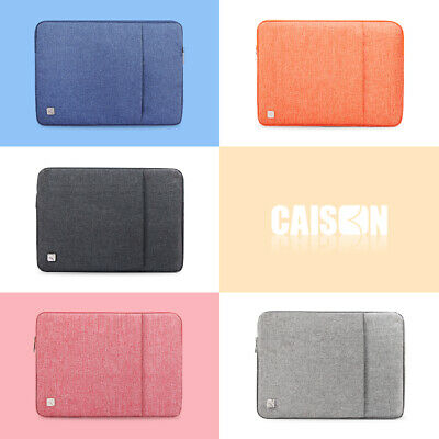 """CAISON Laptop Sleeve Case Cover Bag For 10.1 12 13.3 14 15.6 17.3"""" inch Computer"""