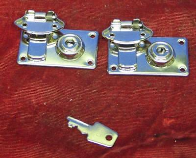 New Lock Latches & Key for Singer 221 Featherweight Sewing Machine Case