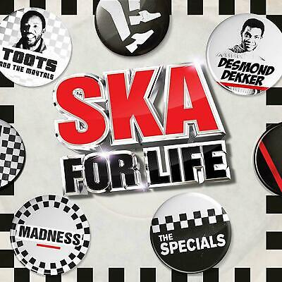 SKA FOR LIFE 3 CD ALBUM SET - VARIOUS ARTISTS (Released June 7th 2019)