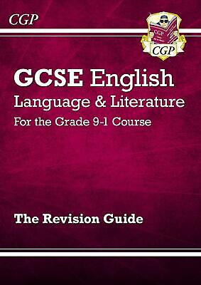 GCSE English Language and Literature Revision Gu by CGP Books New Paperback Book
