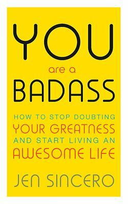 You Are a Badass by Jen Sincero Paperback NEW Book