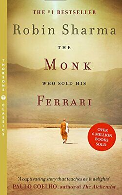 The Monk Who Sold his Ferrari by Robin Sharma Paperback NEW Book