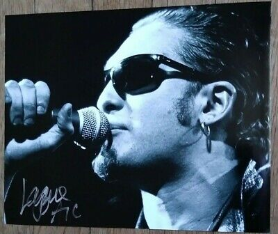 "LAYNE STALEY ""AUTOGRAPHED HAND SIGNED"" 8x10 PHOTO - ALICE IN CHAINS"