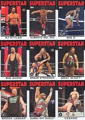 Wrestling Wwe Heritage 2016 Topps Complete Base Card Set Of 110 Wwf