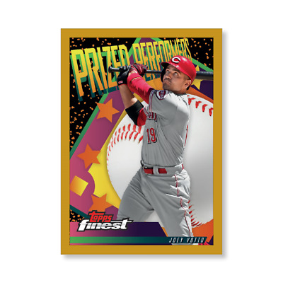 2019 Topps Finest Prized Performers 5x7 GOLD (#/10 Made) JOEY VOTTO Reds