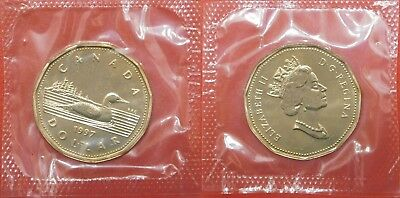 Proof Like 1997 Canada 1 Dollar Sealed in Cello